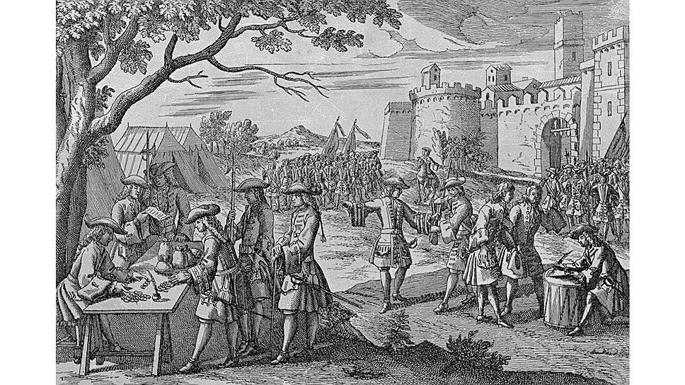 Английская статистика XVII–XVIII веков приравнивала наемных работников к солдатам