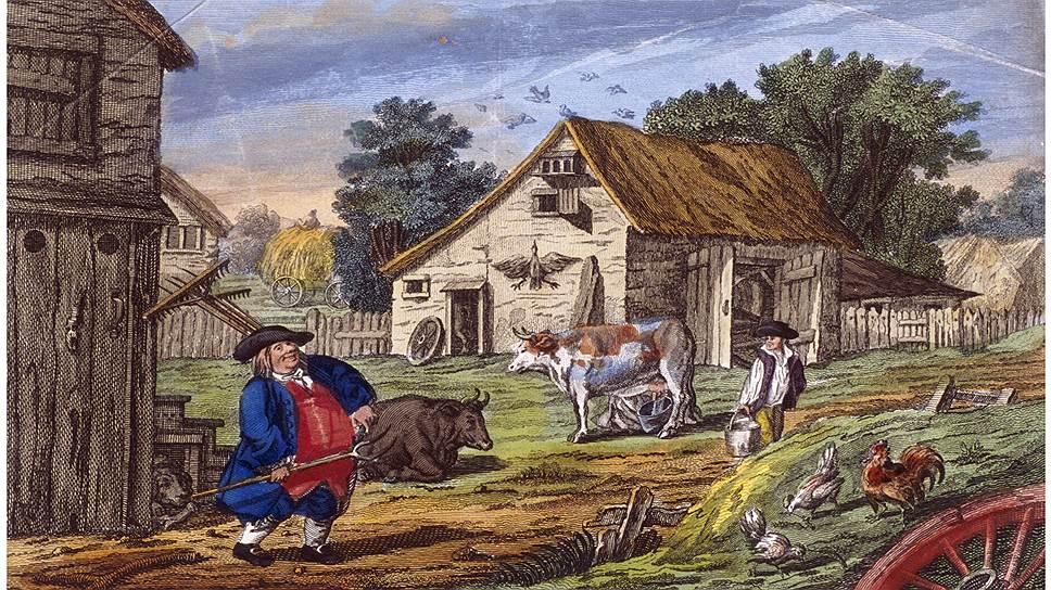 В Великобритании фермеры жили значительно лучше тех, кому они платили за работу