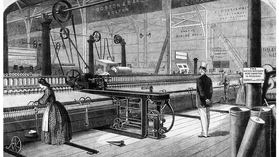 Понятие «ткачиха-многостаночница» появилось в XIX веке