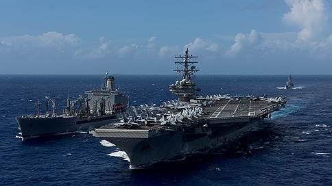 «Рейган», «Рузвельт» и «Нимиц» подошли к берегам КНДР // На учения у Корейского полуострова прибыли сразу три американских авианосца