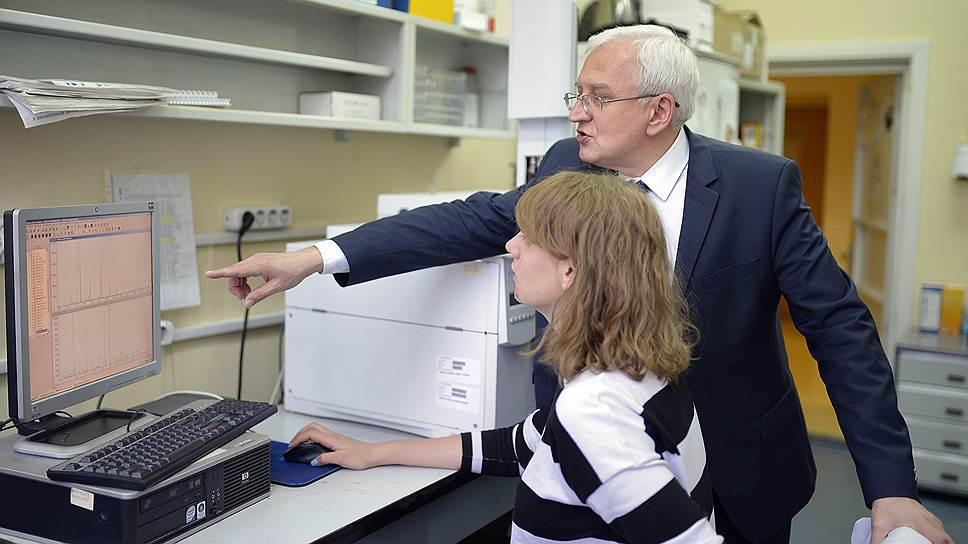 Директор Московского медико-генетического центра РАМН Сергей Куцев
