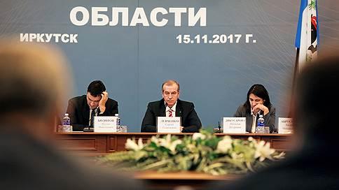 Сергей Левченко ступил на поле местной политики // На совещание к губернатору Иркутской области приехали не все мэры