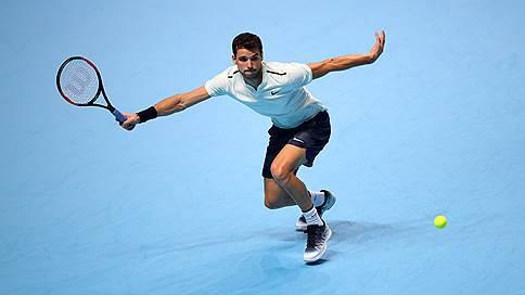 Болгарская «баранка» // Григор Димитров стал вторым полуфиналистом итогового турнира ATP