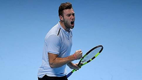 Возвращение Небраски // Дебютант итогового турнира ATP Джек Сок вышел в полуфинал