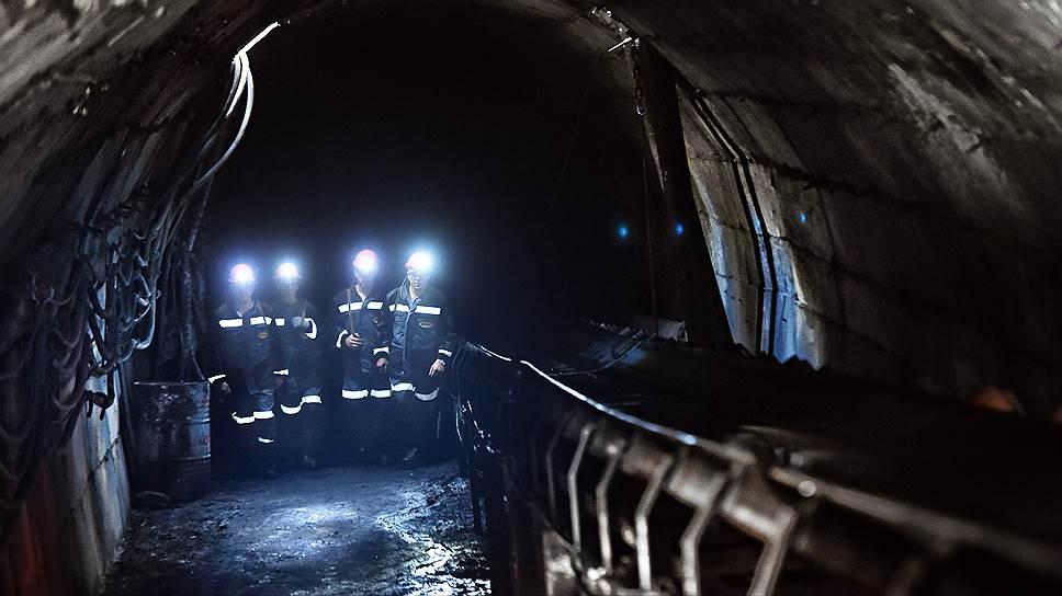 В кузбасской шахте добывали данные