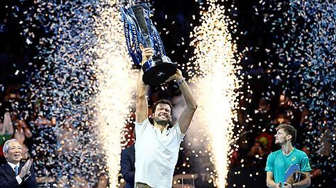 Гринвич заговорил по-болгарски // Итоговый турнир ATP выиграл Григор Димитров