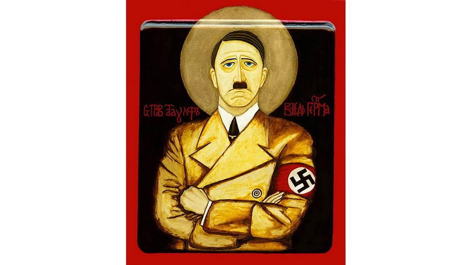 Глядя на икону Атаульфа Мюнхенского, трудно поверить, что это не пародия и не авангардистская акция, созданная ради эпатажа зрителей