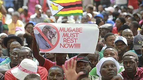 Роберт Мугабе подал в отставку письмом // Парламент объявил следующим президентом Зимбабве Эммерсона Мнангагву