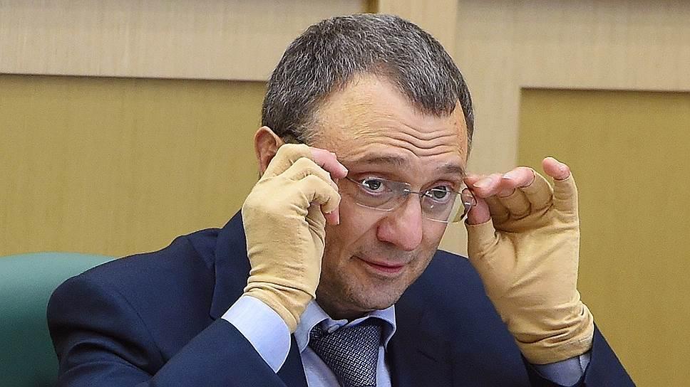 Член Совета федерации от Дагестана Сулейман Керимов