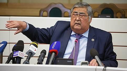 Аман Тулеев призвал сплотиться вокруг Владимира Путина // Губернатор Кемеровской области похвалился профицитным бюджетом