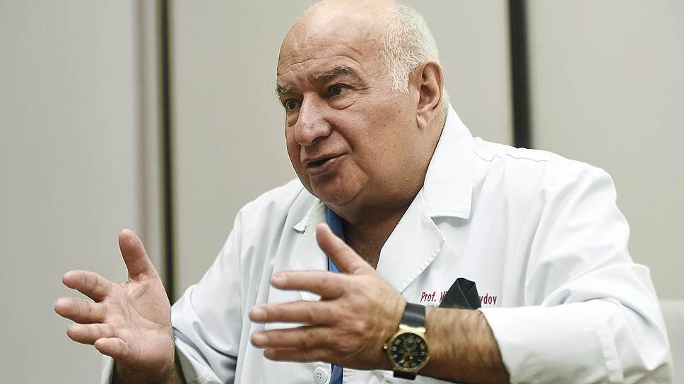 Генеральный директор Российского онкологического научного центра имени Н.Н.Блохина Михаил Давыдов