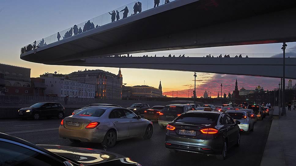 Почему загруженность улиц в центре Москвы достигла максимальных значений за последние годы