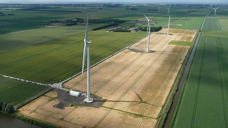 Проект ветроэлектростанций в Адыгее