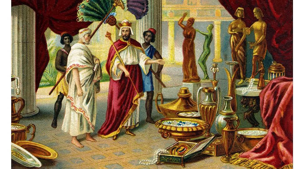 Афинский законодатель Солон измерял политический вес граждан в зерне, вине и оливковом масле