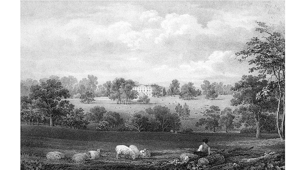 Основой британской политической жизни была крупная земельная собственность