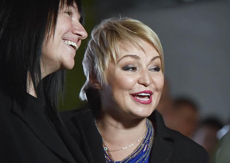 Хореограф Алла Духова (слева) и певица Катя Лель (справа)