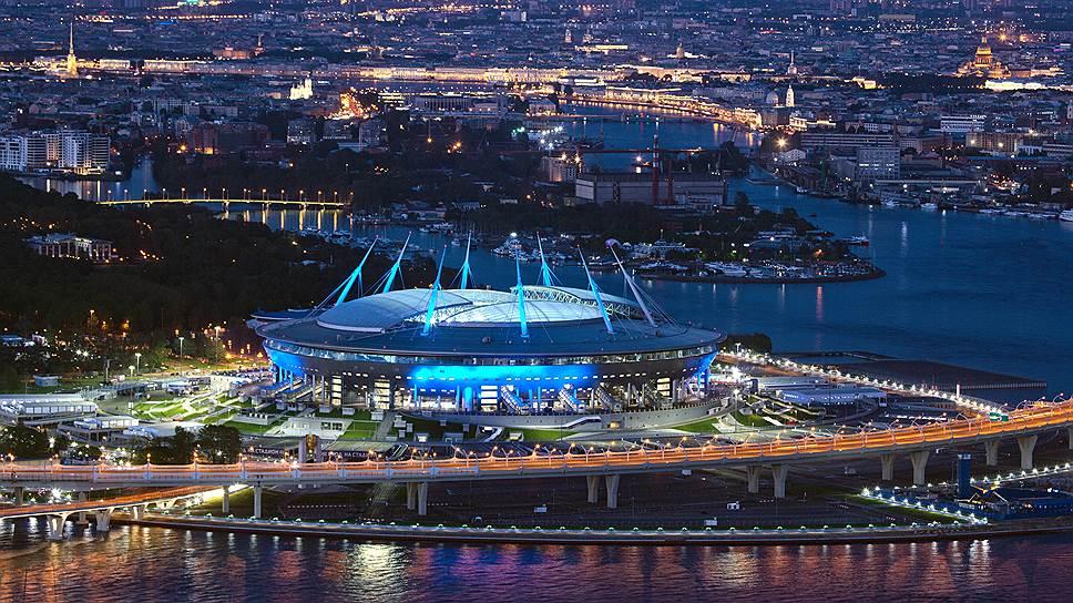 Стадионы ЧМ-2018 по футболу