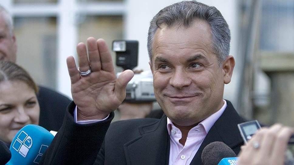 Лидер правящей в Молдавии Демократической партии Владимир Плахотнюк