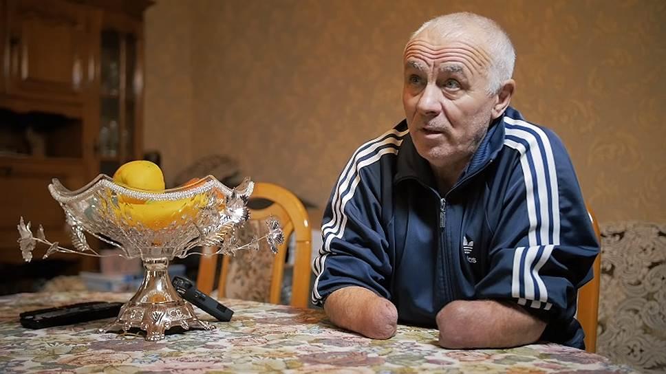 Общественный активист и инвалид Аслан Иритов