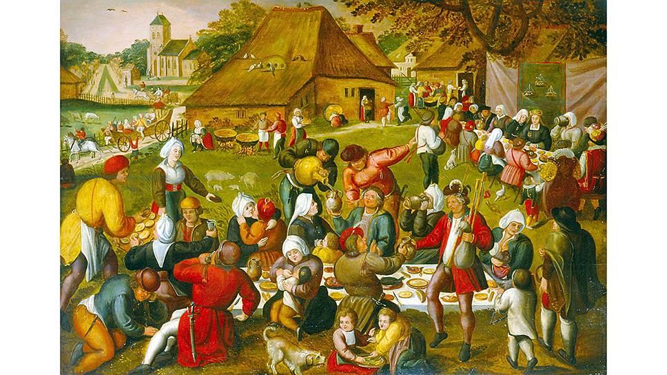 Веселые свадьбы фермеров мало напоминали церковные обряды