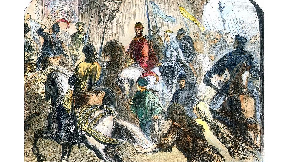 Английский король Генрих II стал богатейшим государем Европы только благодаря женитьбе