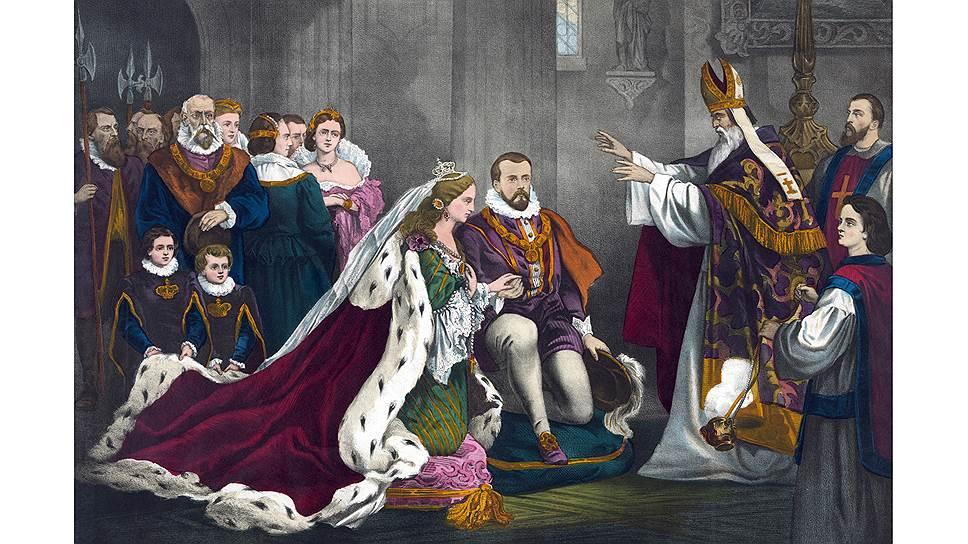 Венценосные женщины в брачных вопросах играли на равных с королями