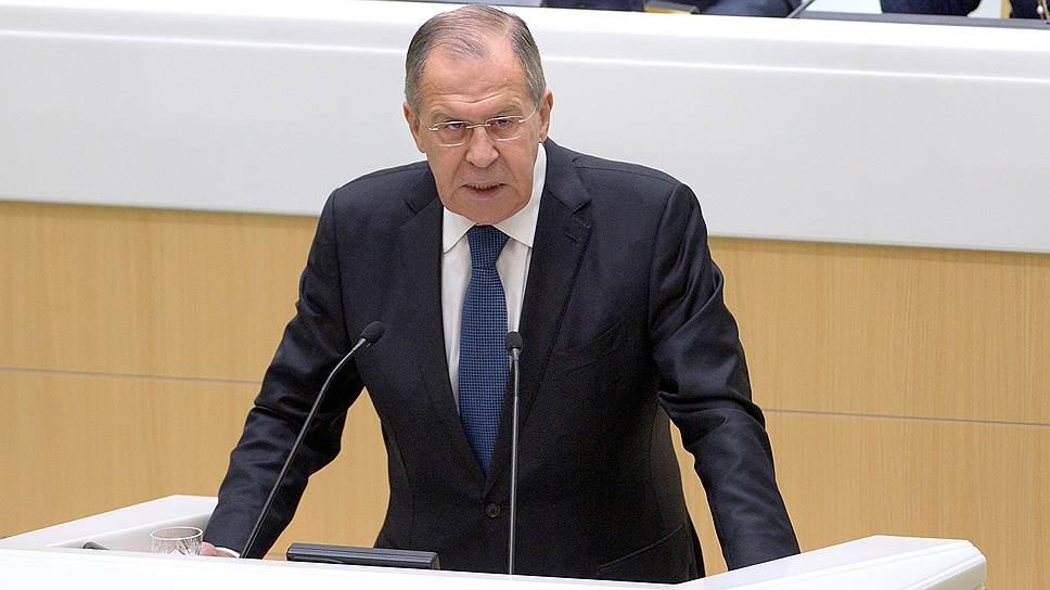 Глава МИД России Сергей Лавров наметил планы на 2018 год