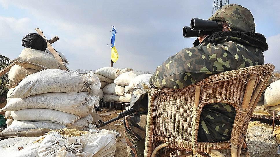 Российские военнослужащие не договорились о порядке въезда на Украину