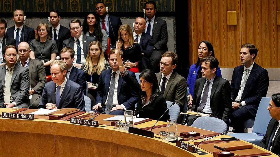 Представитель США в ООН Никки Хейли