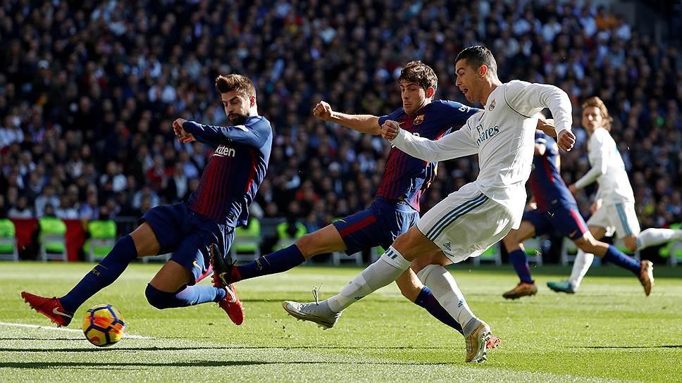 Как «Реал» проиграл домашнее эль-класико со счетом 0:3