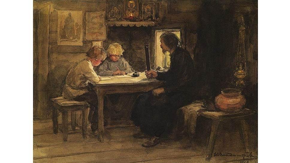 Дети, освоившие грамоту по Часослову и Псалтыри, имели весьма своеобразное представление о правилах русского правописания