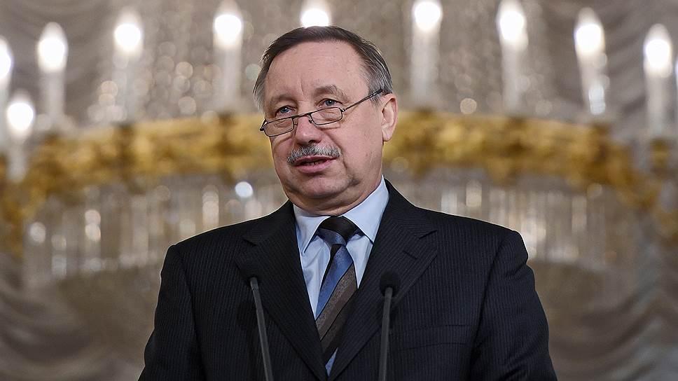 Полпред президента в Северо-Западном федеральном округе (СЗФО)  Александр Беглов