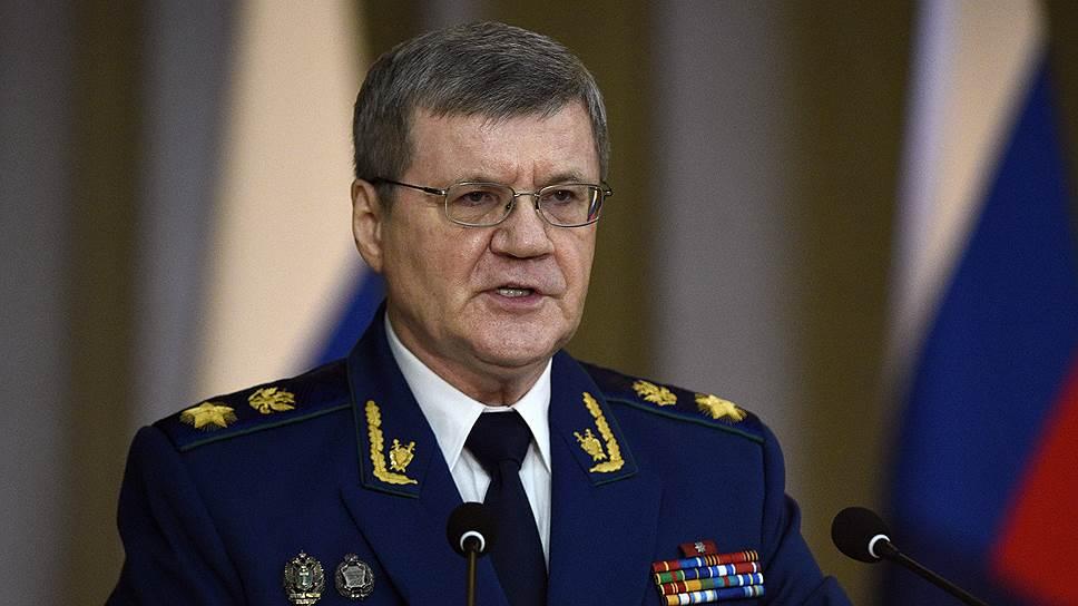 Юрий Чайка обвинил депутатов Европарламента во вмешательстве в расследование дела Уильяма Браудера