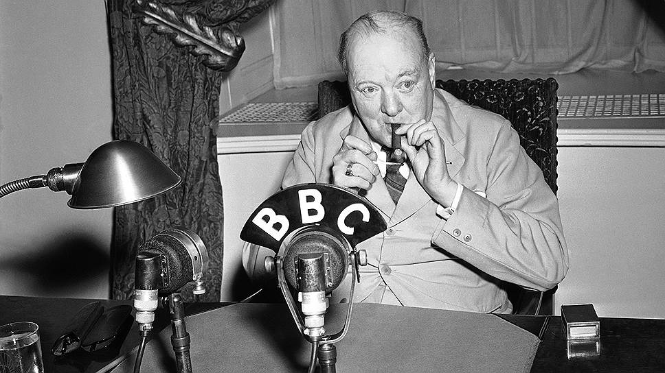 Своими выступлениями по радио во время войны Черчилль очень гордился и, чтобы не опоздать на передачу, готов был предложить таксисту пять фунтов