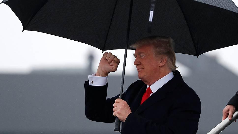 Дональд Трамп впервые за 18 лет представит США на Давосском форуме