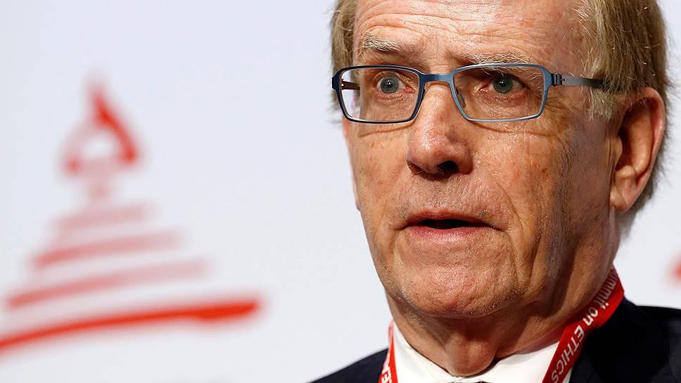Глава комиссии WADA по расследованию обвинений в допинг-махинациях на Олимпиаде-2014 Ричард Макларен