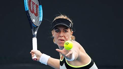 Россияне понесли первые потери на Australian Open // Екатерина Макарова и Михаил Южный не прошли во второй круг турнира