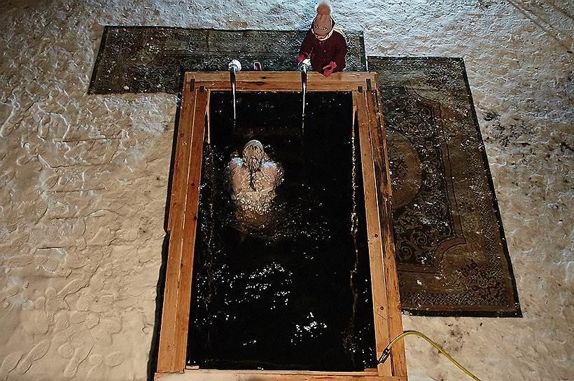 Калининград. Крещенские купания в Свято-Никольском женском монастыре