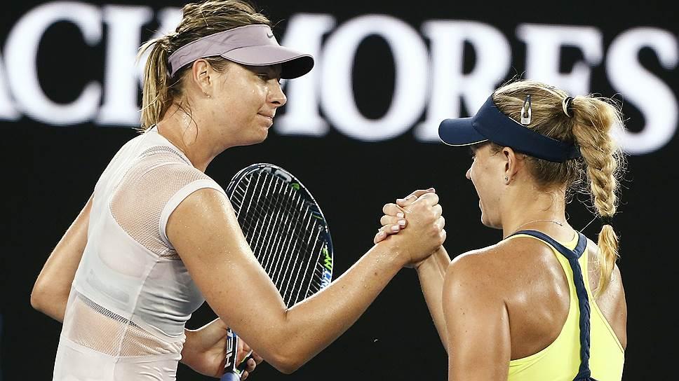 Как Мария Шарапова проиграла в 1/16 финала Australian Open