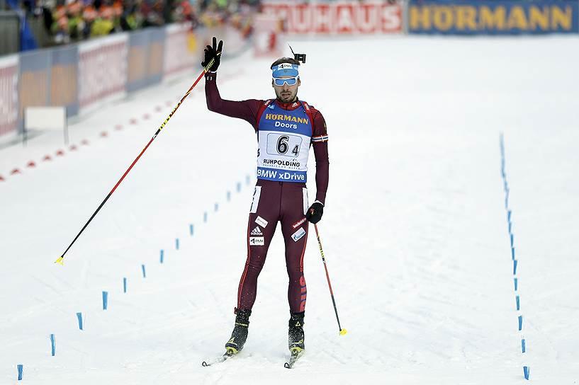 Антон Шипулин, биатлонист. Олимпийский чемпион 2014 года, бронзовый призер Олимпиады 2010 года (все — в эстафете). Шестикратный призер чемпионатов мира
