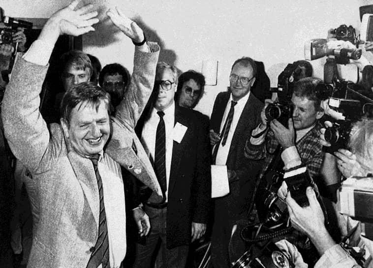 28 февраля 1986 года в Стокгольме был застрелен премьер-министр Швеции Улоф Пальме. Мотивы и исполнители убийства не были раскрыты. Основным подозреваемым стал Кристер Петтерссон, осужденный к пожизненному заключению, однако позже он был оправдан