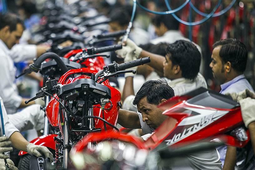 Промышленное производство перестало быть двигателем экономического роста развивающихся стран