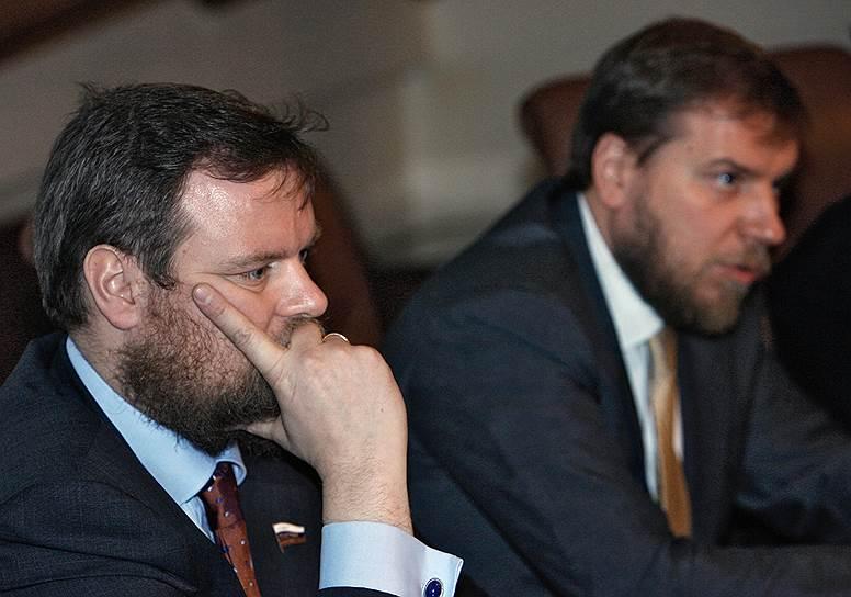 Бывшие акционеры Промсвязьбанка Дмитрий (слева) и Алексей Ананьевы