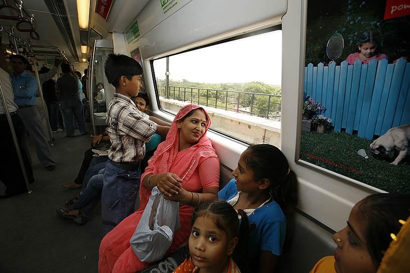 Гургаон может похвастаться первым в Индии частным метрополитеном
