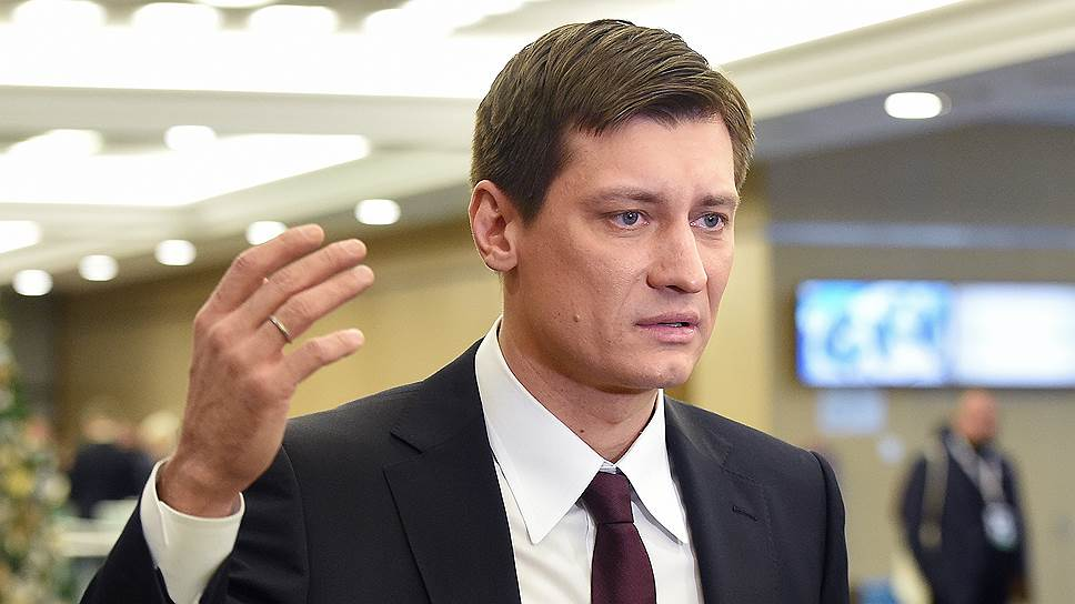 Бывший депутат Госдумы Дмитрий Гудков