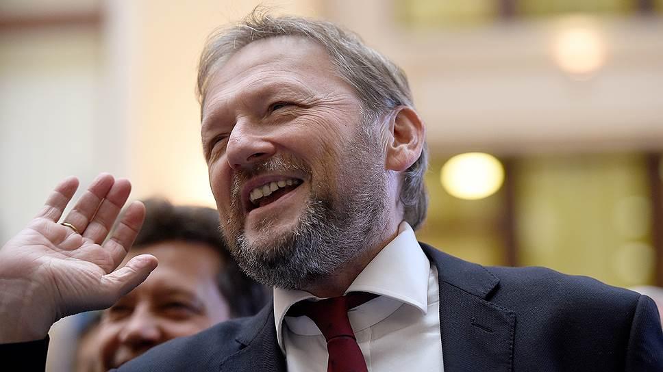 Уполномоченный по защите прав предпринимателей, кандидат в президенты России Борис Титов