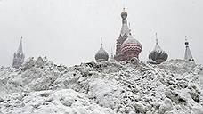 Снегопад в Москве побил рекорд 1957 года
