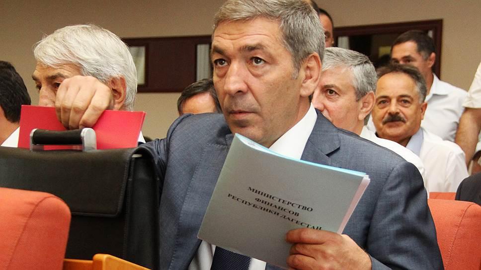 Временно исполняющий обязанности председателя правительства республики Дагестан Абдусамад Гамидов