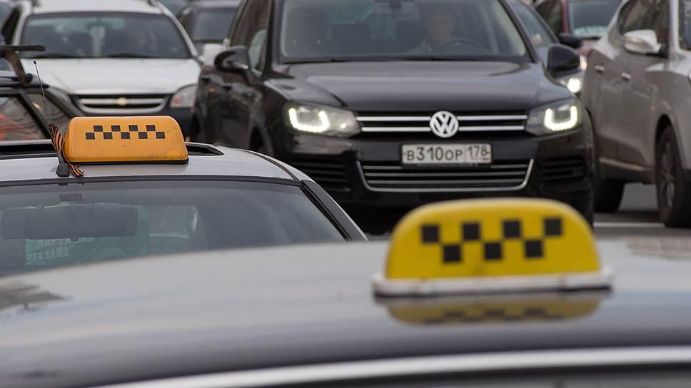 Рынок нелегальных такси в 2017 году составил 75 млрд рублей