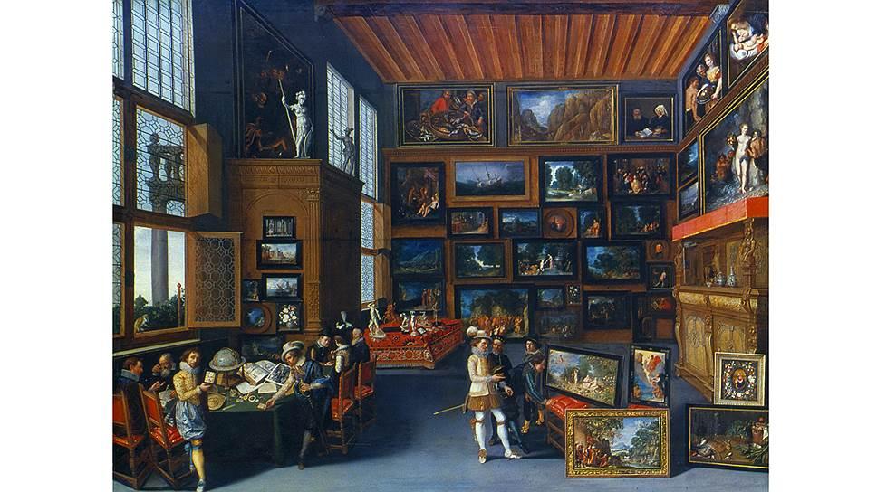 Роскошные господа обязаны были интересоваться искусством